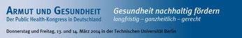 Logo Kongress Arbeit und Gesundheit 2014