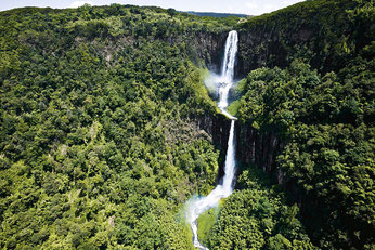 Cascate Karuru. Aberdare National Park