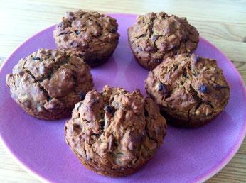 glutenfreie und vegane Apfelmuffins