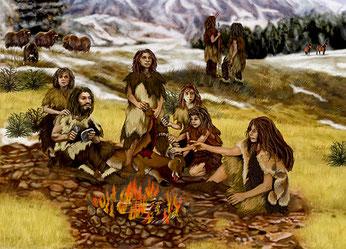 Neandertaler haben gut überlebt