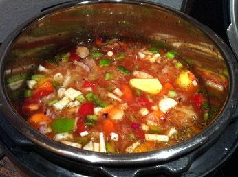 Ungarische Krautsuppe im Instant Pot