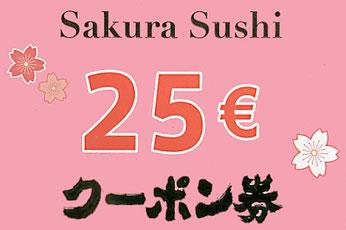 Geschenkgutschein Sakura Chinarestaurant Rheinfelden