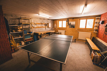Ping-Pong-Raum