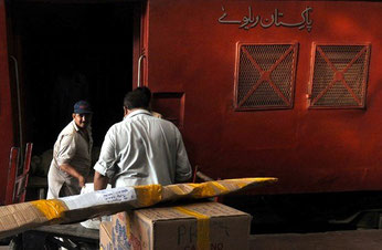 Pakistan Parcel Express train flops