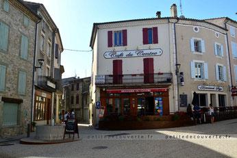 Centre historique de Bourdeaux Drôme Provençale