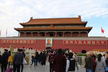 Tian'anmen-Platz, Platz des himmlischen Friedens, Mao, Peking, China