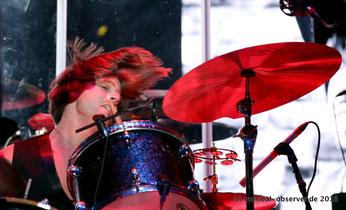 Schlagzeuger Peter Fleming