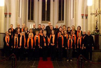 Der Chor Gospel-Voices aus Holzweiler
