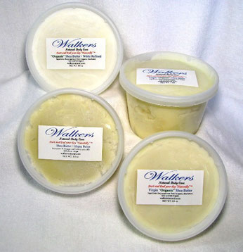 Shea Butter - Organic Refined - Virgin Organic - Natural Ghana Beige