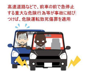 停車行為で危険運転致死傷罪を適用