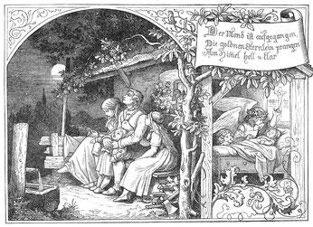 Illustration von Ludwig Richter (1856)