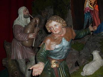 """Hirtenfigur von der Krippe in """"Maria am Gestade"""""""