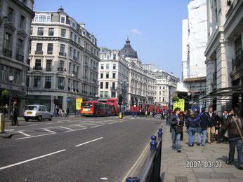 リージェント・ストリート(ロンドンの美しい中心街)