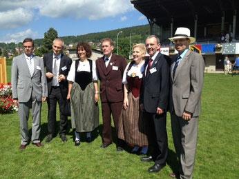 Der gesamte Regierungsrat erweist dem Berner Jura die Ehre.