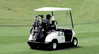 Golf ist teuer.