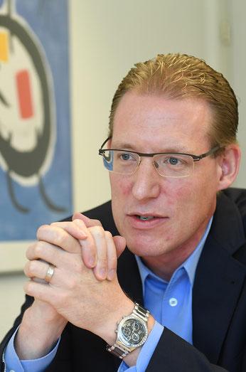 Der 36-jährige Huttwiler Adrian Wüthrich ist seit einem Jahr Präsident von Travailsuisse, des zweitgrössten Gewerkschaftsdachverbands der Schweiz.