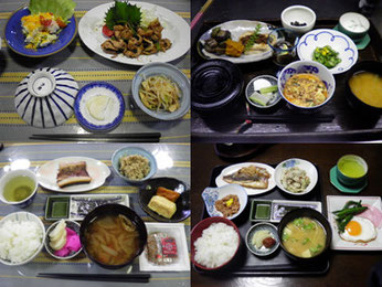 入間郡越生の宿 越生館のお食事  例