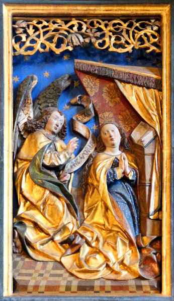 Maria und der Engel (Bild: Rainer Schönauer)