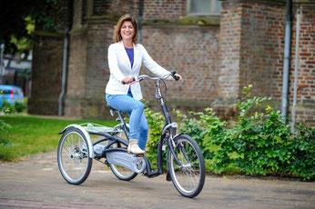 Maxi Comfort Van Raam Dreirad Elektro-Dreirad Beratung, Probefahrt und kaufen in der Beratung unserer Experten im Dreirad-Zentrum in Wiesbaden