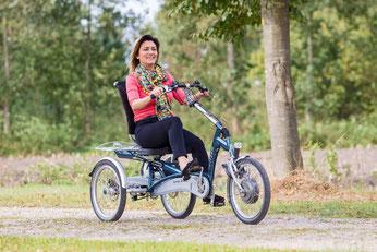 Van Raam Easy Rider Sessel-Dreirad Elektro-Dreirad in Oberhausen probefahren und kaufen