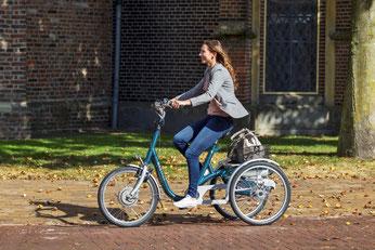 Van Raam Maxi Dreirad Elektro-Dreirad in Kempten probefahren und kaufen
