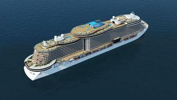 NCL Leonardo // © Norwegian Cruise Line