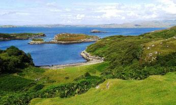 Drumbeg loop Highlands of Scotland