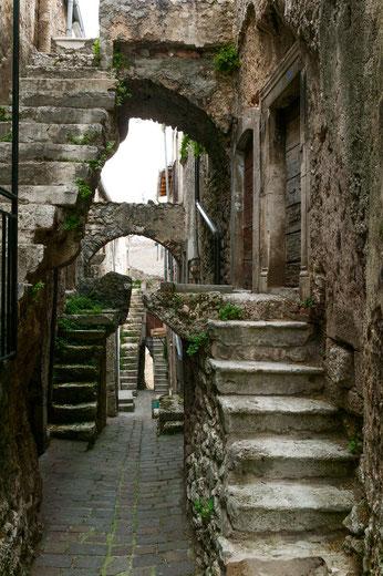 Castelvecchio Calvisio, vicolo