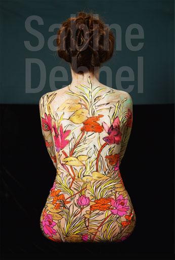 Titelbild: Sabine Dehnel, VASE VI, 100 x 70 cm, 2021