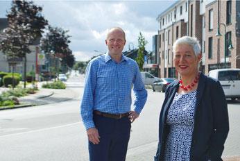 Tobias Handtke und Petra Andersen