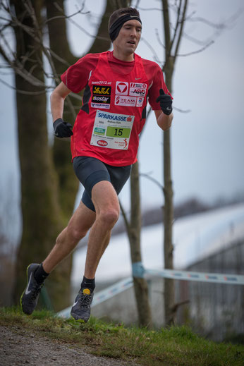 "Andreas Vojta bei der ""Cross Attack"" in Salzburg"