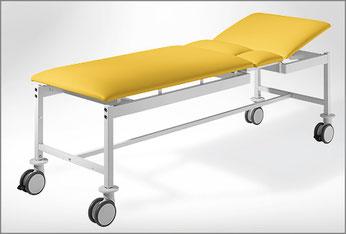 Die sichere Polster-Distanz bei Patientenliegen von SIMPEX-OBJEKT.