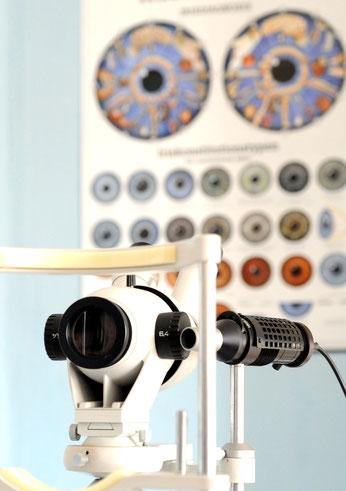 Augendiagnose  hilft Schwachstellen im Körper frühzeitig zu erkennen