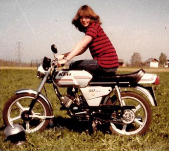 Linda im Jahre 1981