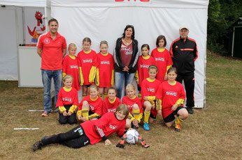 (Foto:Privat) Team Stützpunkt Süd mit Betreuerstab