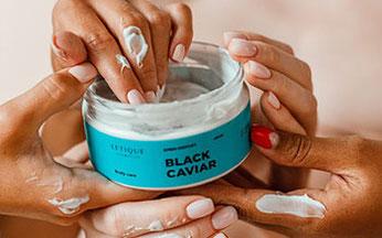 Letique Cosmetics Hautpflege und Körperpflege Produkte online kaufen hier Scrub Black Caviar