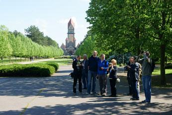 Exkursion zur Stunde der Gartenvögel auf dem Südfriedhof. Foto: René Sievert