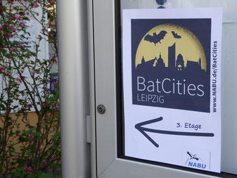 Auftakt zum Projekt BatCity Leipzig: Der Seminartag fand in der Landesgeschäftsstelle des NABU Sachsen statt. Fotos: Karsten Peterlein