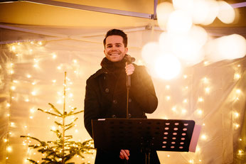 Sänger für Weihnachtsmärkte in Köln, Bonn, Düsseldorf, NRW © Kamera mit Herz