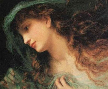 SOPHIE ANDERSON - The Head of a Nymph