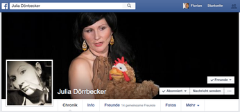Julia Dörrbecker bei Facebook