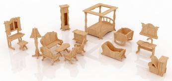verschiedene Möbelsets