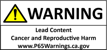 Example of proposed Proposition 65 short-form warning
