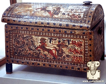 ancient Egypt trunk old