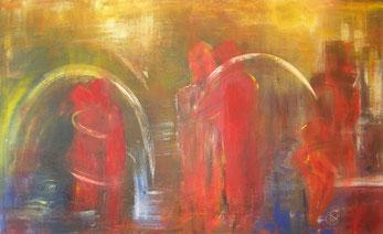 BDL 0904, Acryl auf Leinwand 100 x 140 cm