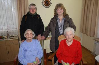Besuche in Seniorenheimen, …