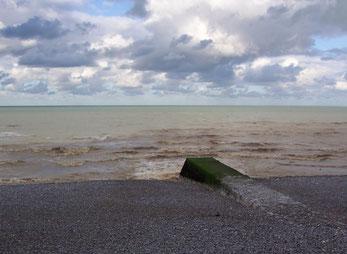 Eau de baignade boueuse - Ste Marguerite sur Mer