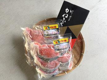 紅鮭・辛子明太子セット写真