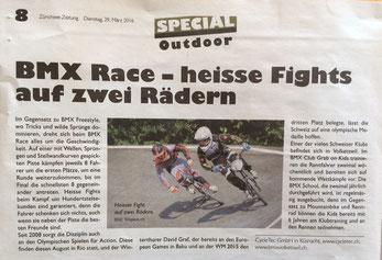 Beitrag in der Zürichsee-Zeitung vom 29.3.2016
