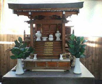 住吉神の社殿